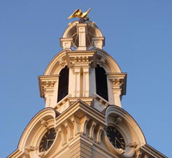 Lawrence City Hall Clock Tower